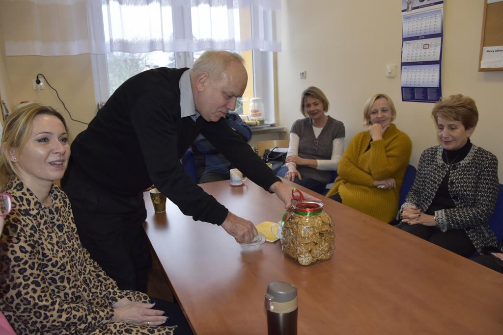 Ilustracja do informacji: Spotkanie noworoczne w szkole w Słonem