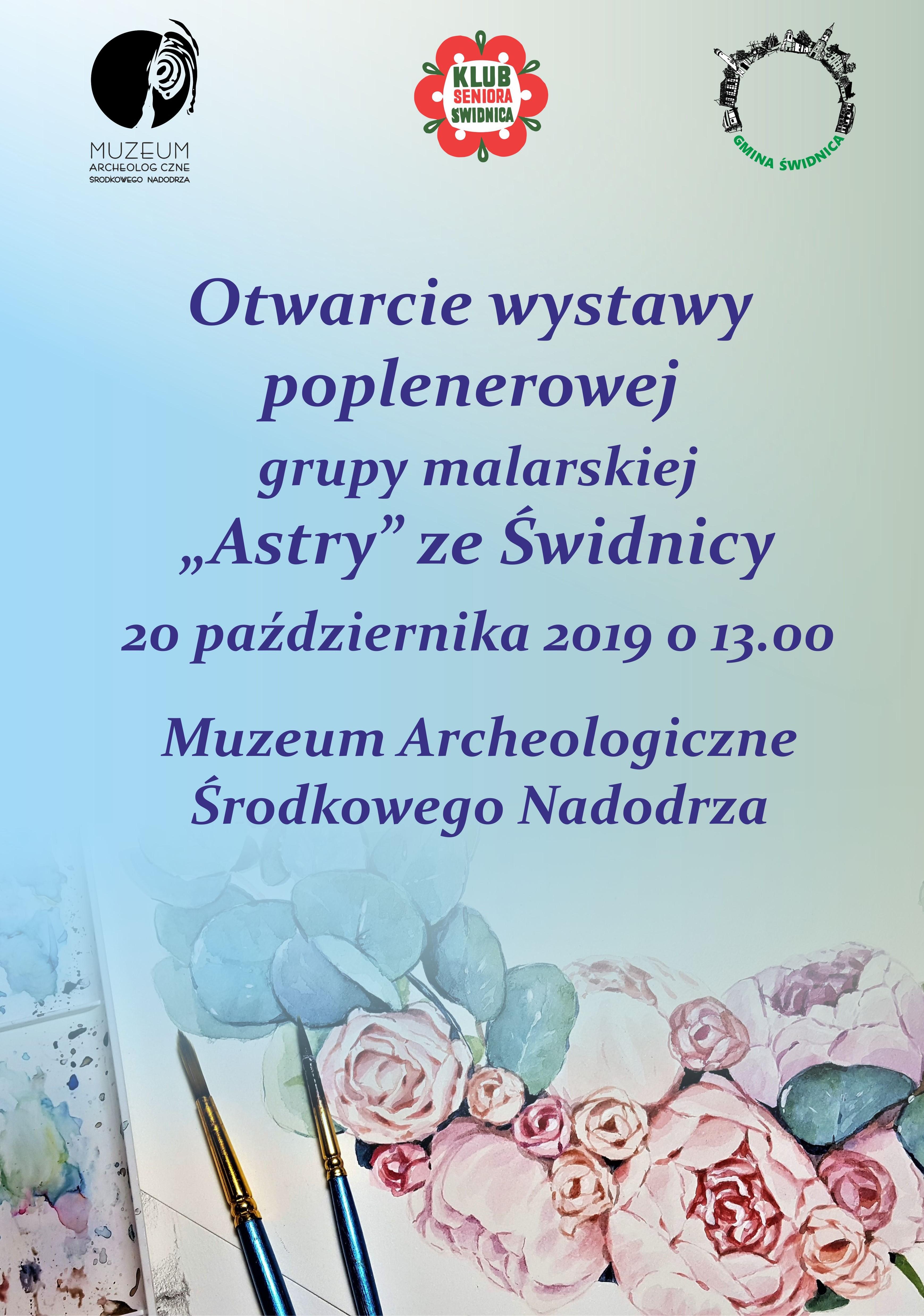 """Ilustracja do informacji: Wystawa """"Astrów"""""""