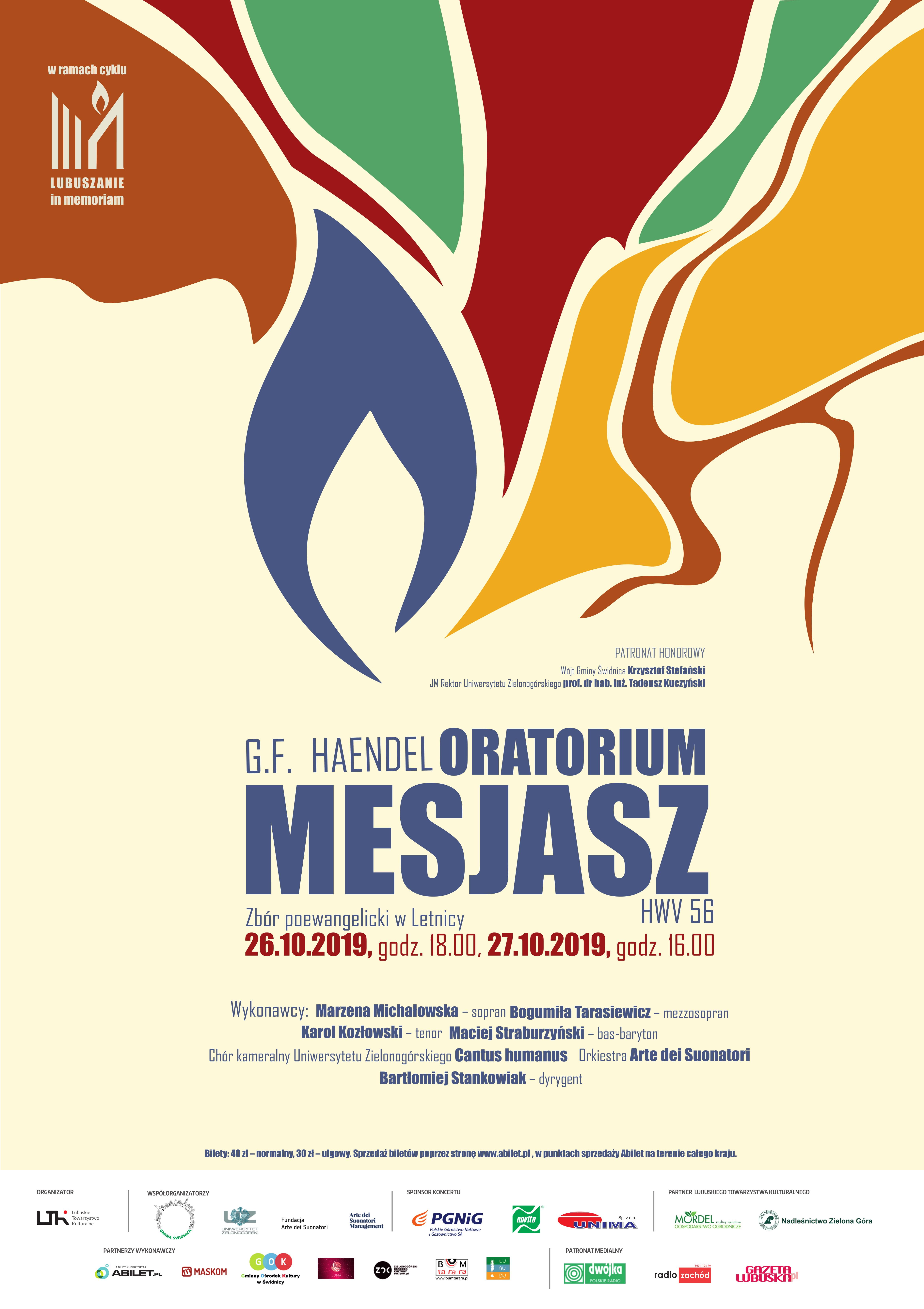 Ilustracja do informacji: Oratorium Mesjasz w zborze
