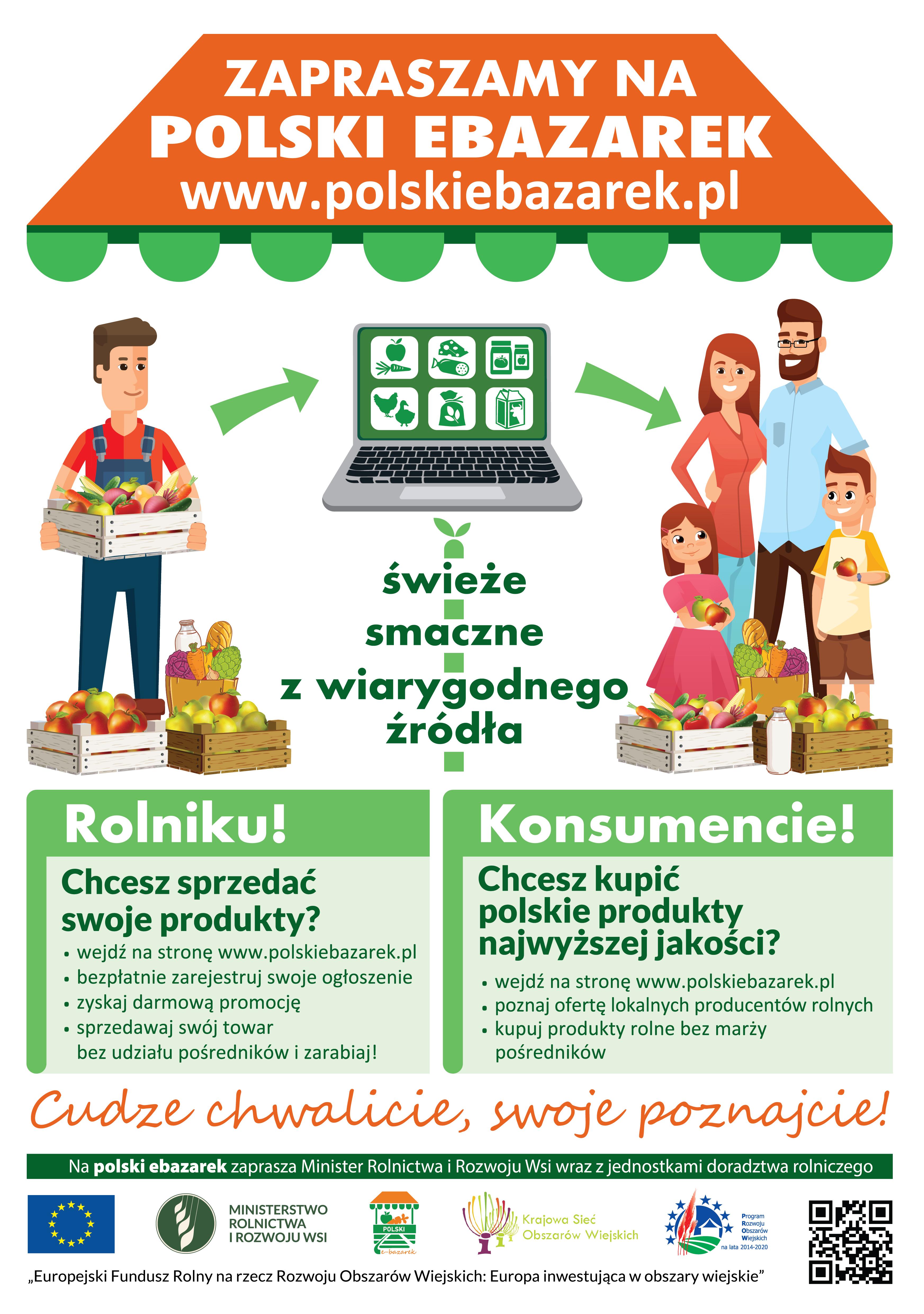 Ilustracja do informacji: Platforma ogłoszeniowa polskiebazarek.pl