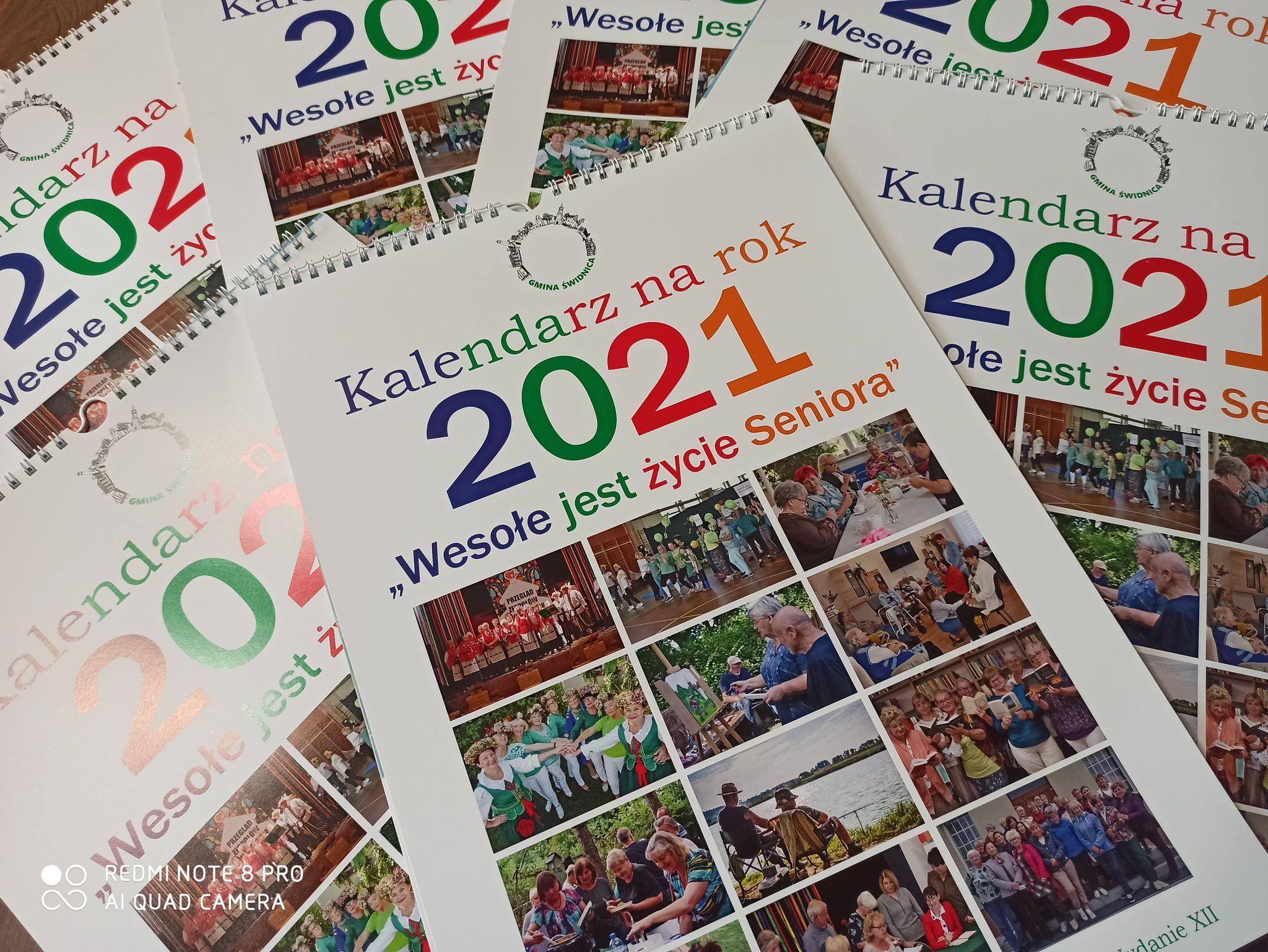 Ilustracja do informacji: Kalendarze dla mieszkańców