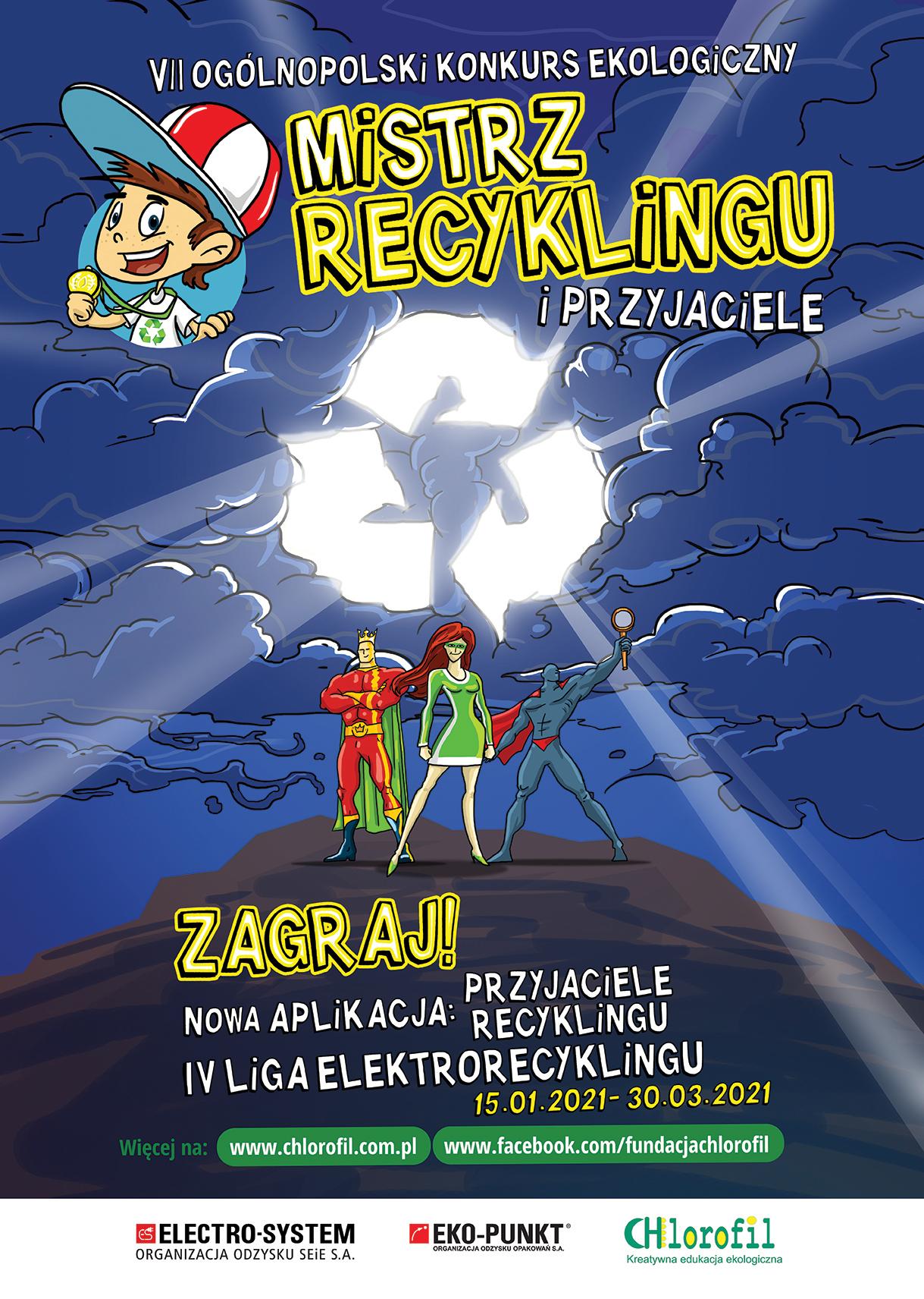 Ilustracja do informacji: VII edycja Ogólnopolskiego Konkursu Ekologicznego