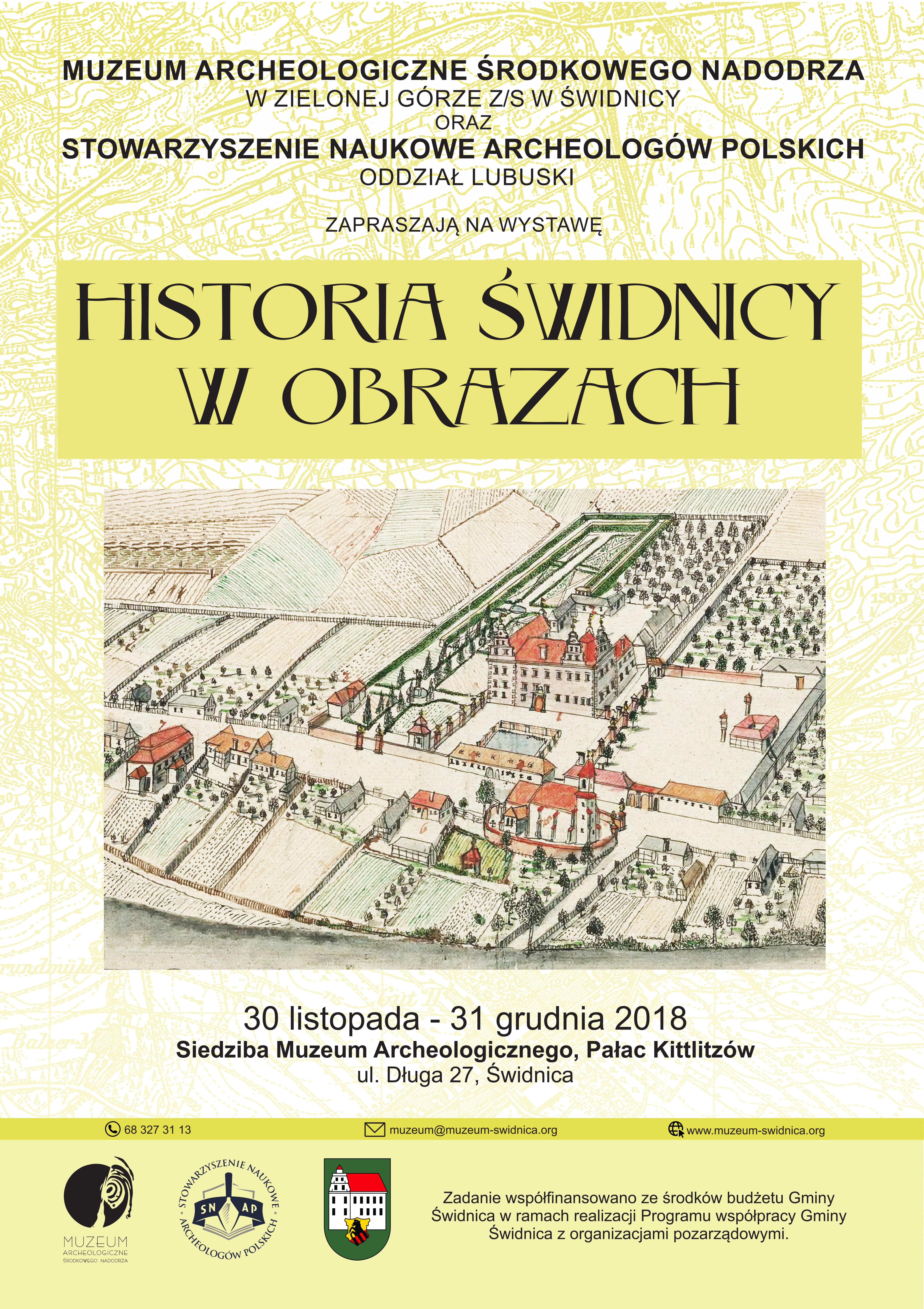 Ilustracja do informacji: Historia Świdnicy w obrazach