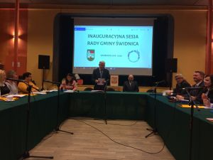Miniatura zdjęcia: pierwsza sesja VII kadencji Rady Gminy