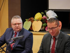 Miniatura zdjęcia: Pierwsza sesja VIII kadencji Rady Gminy