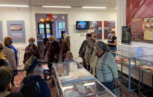 Miniatura zdjęcia: Seniorzy w Lubuskim Muzeum Wojskowym
